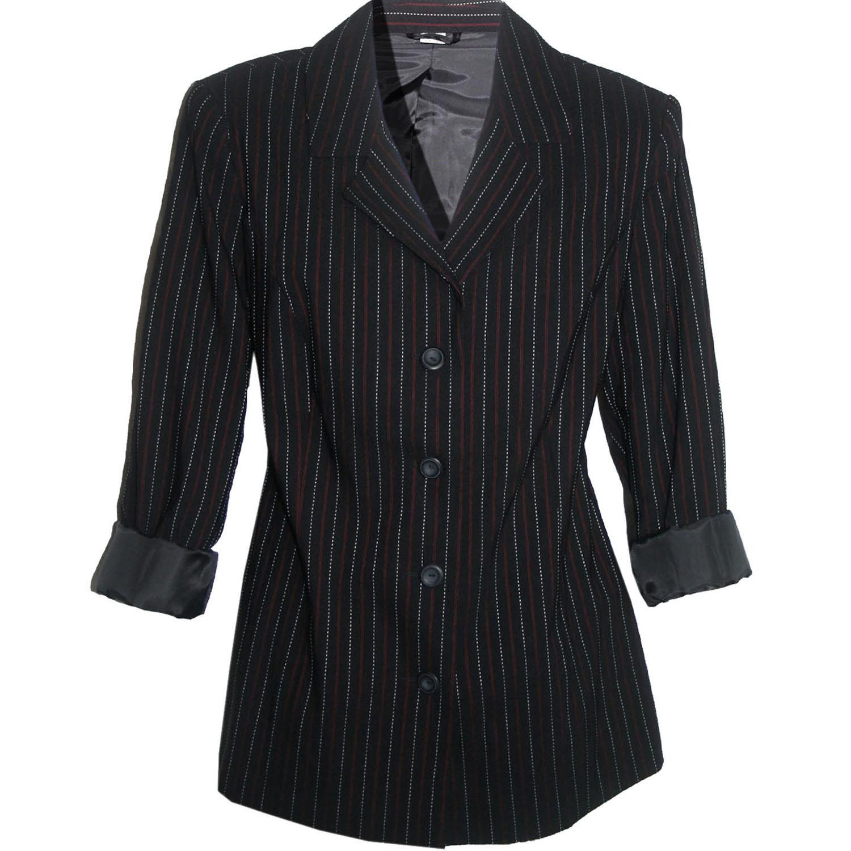 zu blazer 42 l xl jacke jacket business b ro city schwarz. Black Bedroom Furniture Sets. Home Design Ideas